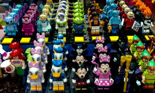Collectible Disney character MiniFigs