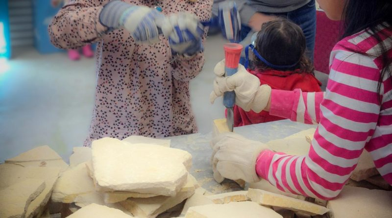 Kids Day at Mama's Minerals
