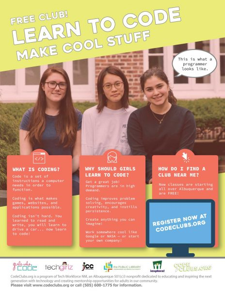 Girls Who Code Fall 2019 Flyer