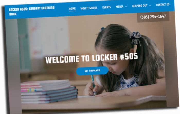 Locker 505 Website