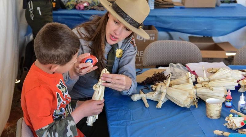 Arts and Crafts at Pecos event