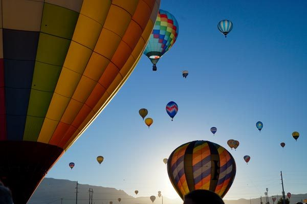 The Balloon Fiesta is one of the best parts of living in Albuquerque. Photo by Anne Steen.