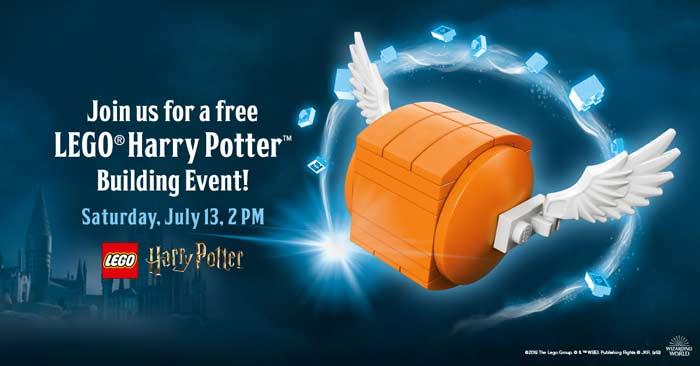Harry Potter LEGO Make & Take