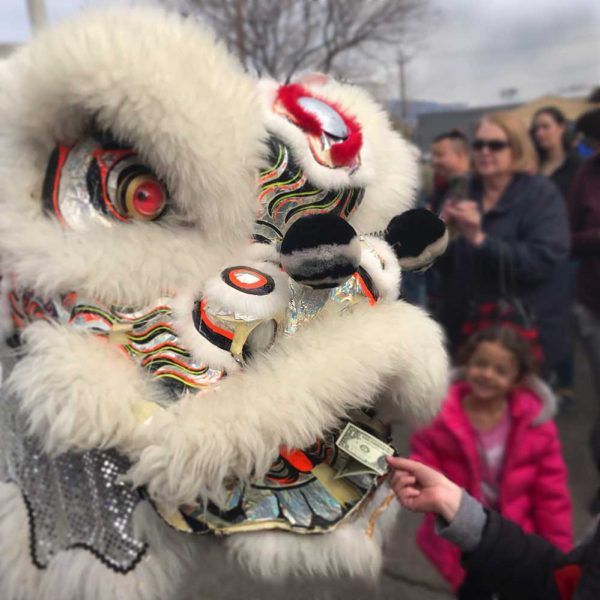 Lion Dance in Albuquerque